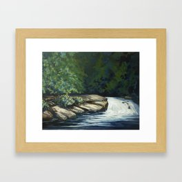 Lost In The Woods #2 Framed Art Print