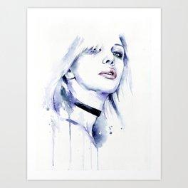 Violet (Courtney) Art Print
