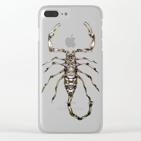 Scorpion's Kiss Clear iPhone Case