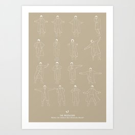 The Producers Art Print