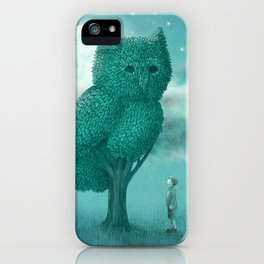 The Night Gardener - Cover iPhone Case