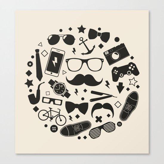 men's accessories Canvas Print
