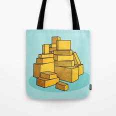 Stax Tote Bag