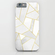 White Stone Slim Case iPhone 6