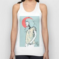 korea Tank Tops featuring Korea Girl by Dave Long [A1W]