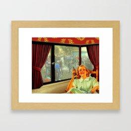 Enjoy your life! Framed Art Print