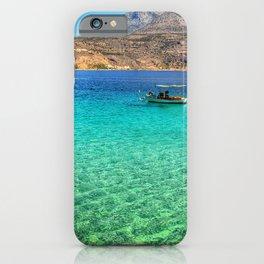 Limeni Mani GREECE I iPhone Case