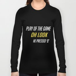 Play of the game q Long Sleeve T-shirt
