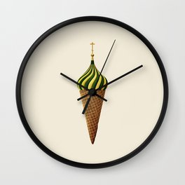 Basil Flavoured Wall Clock