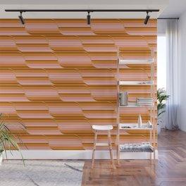 Geo Stripes - Butterscotch Wall Mural
