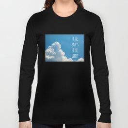 Sky's the limit - cloudscape Long Sleeve T-shirt