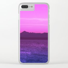 Bi Pride Clear iPhone Case