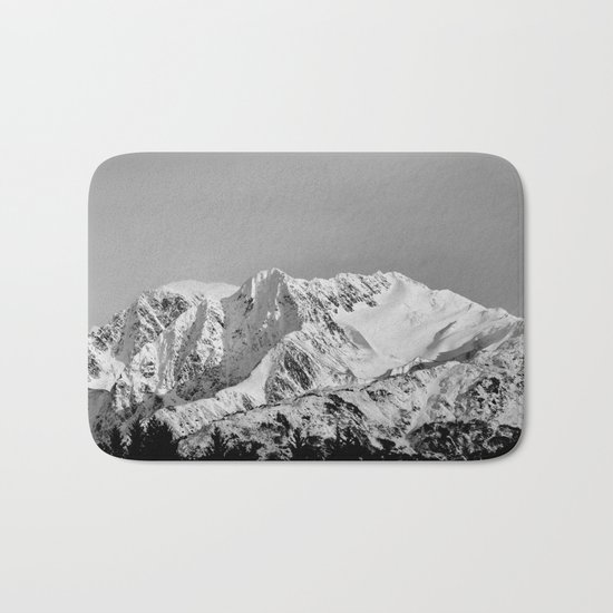 Mountain Glacier Two Bath Mat