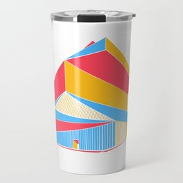Rem Koolhaas - Seattle Central Library Travel Mug