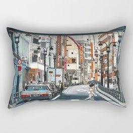 Tokyo Crossing Rectangular Pillow