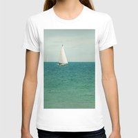 sail T-shirts featuring Minty Sail by Pure Nature Photos