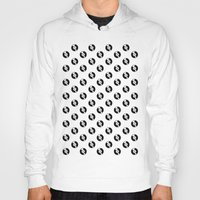 records Hoodies featuring Pattern Records by Idan David
