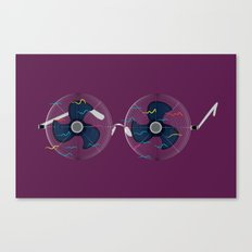 WindGlasses Canvas Print
