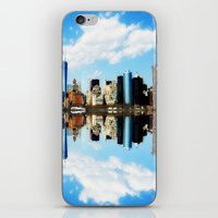 new york iPhone & iPod Skins featuring New York New York by haroulita