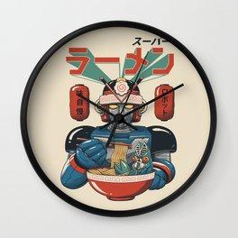Super Ramen Bot Wall Clock