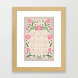 Everything is Made Out of Magic 2019 Calendar Framed Art Print
