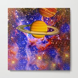NEBULA DANCING WITH STARS Metal Print
