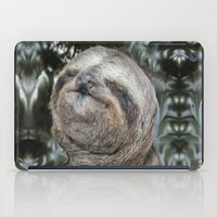 sloth iPad Cases featuring Sloth by Bruce Stanfield