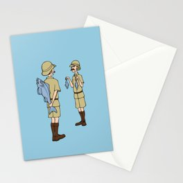 Fish Slapping Dance Stationery Cards