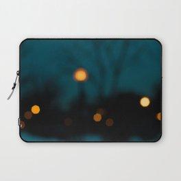 Blurry Night Laptop Sleeve