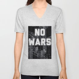 NO WARS  Unisex V-Neck
