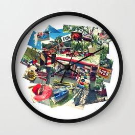 Fun Is Good (Pillow Talk) Wall Clock