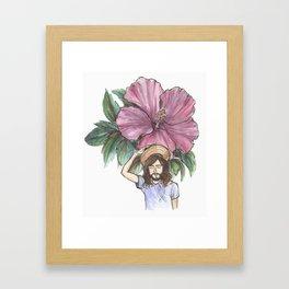 Shabop Shalom Framed Art Print