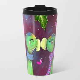 Xmas Lovebirds Travel Mug