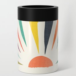 Rainbow ray Can Cooler