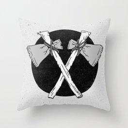 Axes Throw Pillow