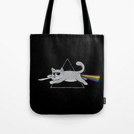 The Dark Side of Cats Tote Bag