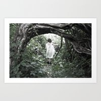 uncharted Art Prints featuring Uncharted Territory by Brooke Ryan Photography