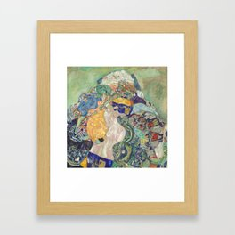 Baby (Cradle) Framed Art Print