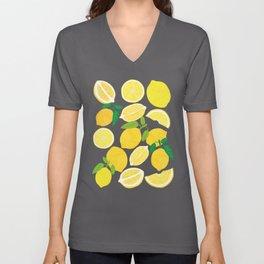 Lemon Harvest Unisex V-Ausschnitt