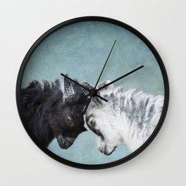 Baby Goats Wall Clock
