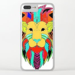 Let the jungle speak Clear iPhone Case