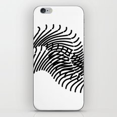 Zebra Sonnet iPhone & iPod Skin