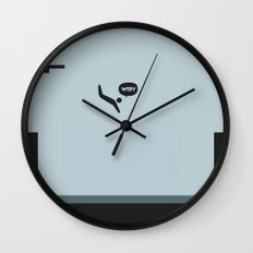 WTF? Pool Wall Clock