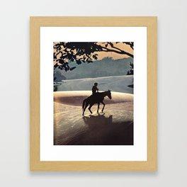Hermano Framed Art Print