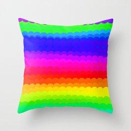 Rainbow Color S27 Throw Pillow