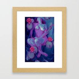 Sadie's Underwater Dream Framed Art Print