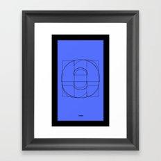 Die Neue Haas Grotesk (C-01) Framed Art Print