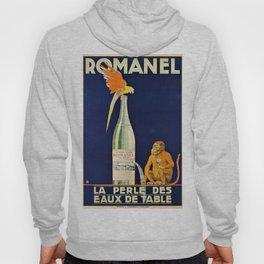 1915 Vintage Romanel, Aperitif Advertisement Poster Hoody