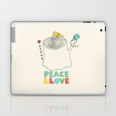 Peace & Love Laptop & iPad Skin