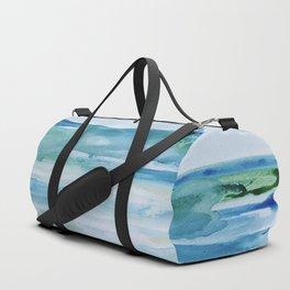 Miami Beach Watercolor #1 Duffle Bag